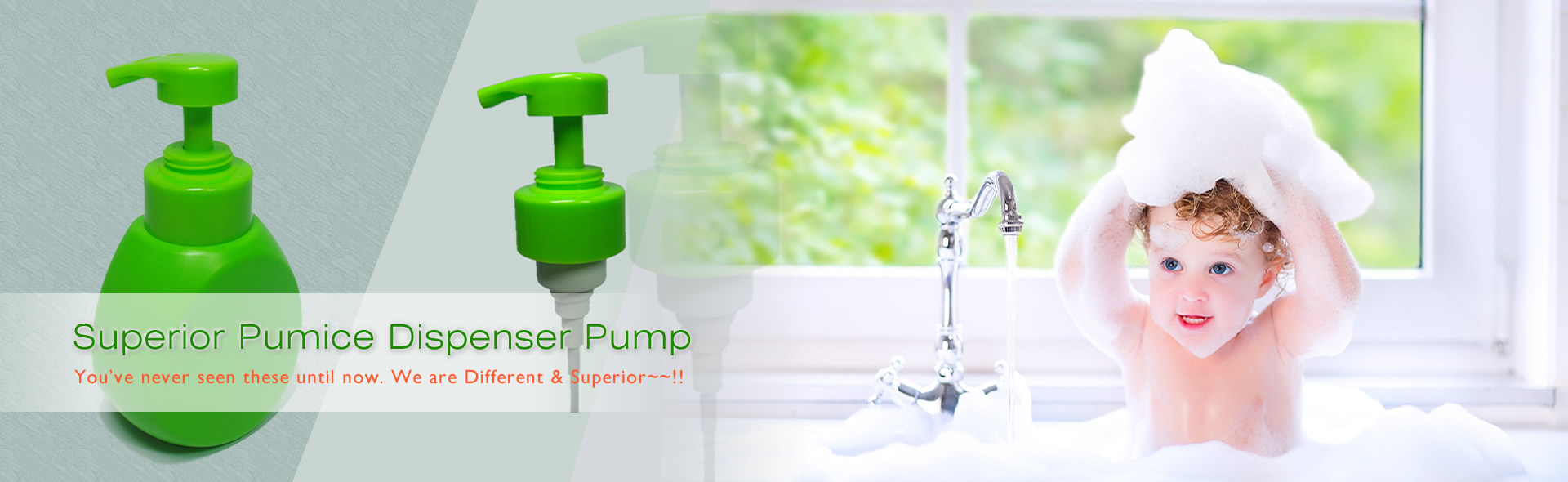 Foaming Pump Products